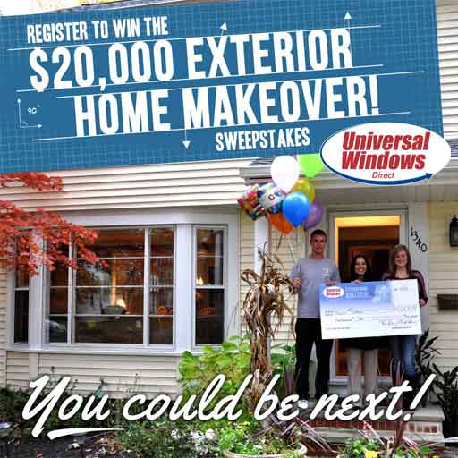 Universal Windows Direct Home Makeover Sweepstakes - Logo